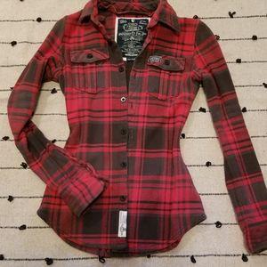 Vintage SuperDry Shirt Jacket